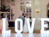 4' LOVE Light Up Letters - Photo by Paul Saunders Photography