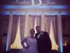 Animated Monogram & Tiffany Up Lighting @ The Hall of Springs
