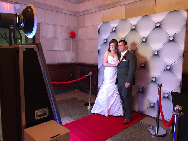 Wedding DJ Packages With Magic Mirror Me Photo Booth