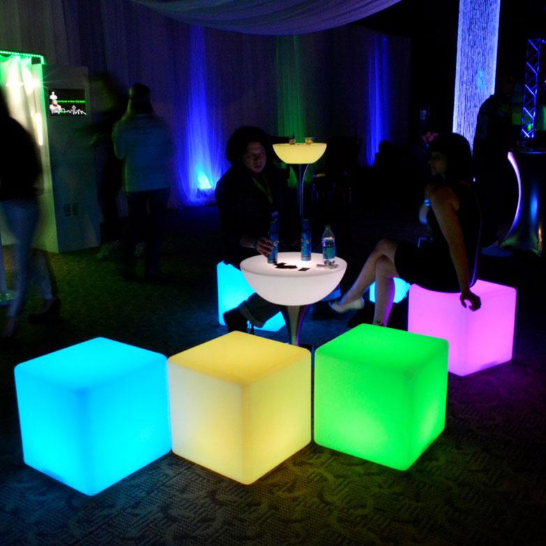 Light Up Cubes