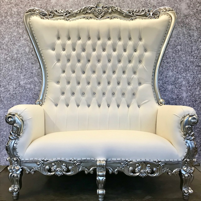 Silver Throne Bench